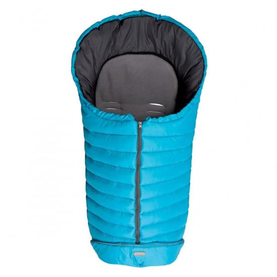 Fillikid zimska vreća za kolica Kibo turkis/grey