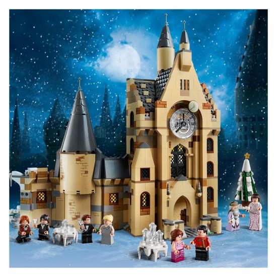 Lego Harry Potter sat na tornju dvorca Hogwarts™