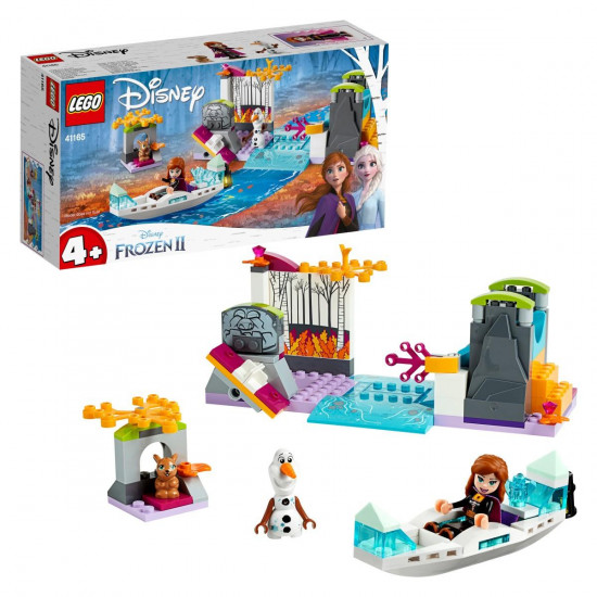 Lego Disney princess Ana na ekspediciji kanuom
