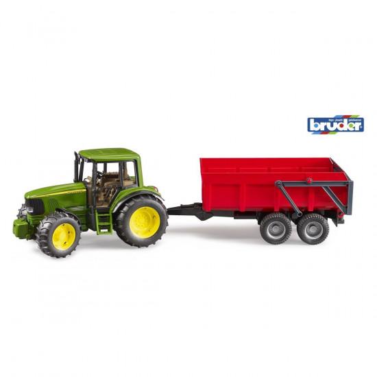 Bruder traktor John Deere 6920 s prikolicom