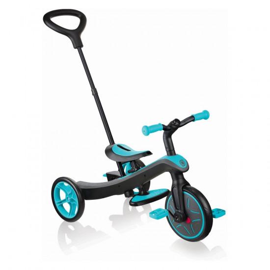 Globber tricikl Explorer 4 u 1 zeleno plavi