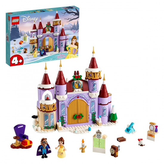 Lego Disney princess Belleina zimska proslava u dvorcu