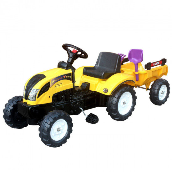 Traktor s prikolicom 123x42x51