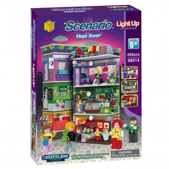 Scenario Set 3 v 1 mega toranj kocke
