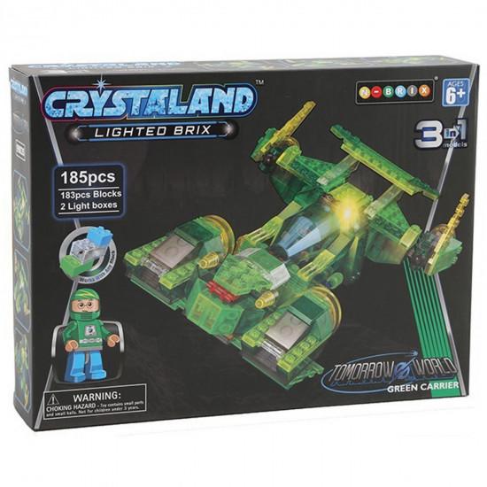 Crystaland svemirski brod 3u1