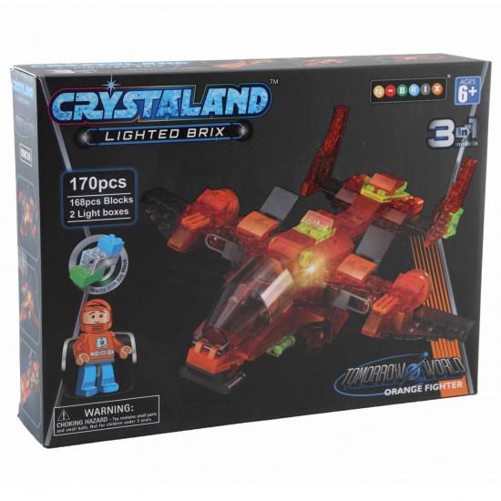 Crystaland avion 3u1 kocke