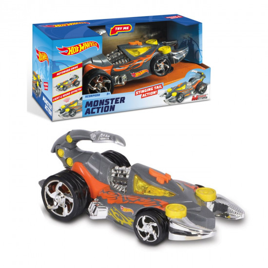 Hot Wheels Monster Scorpedo L&S 23 cm automobil