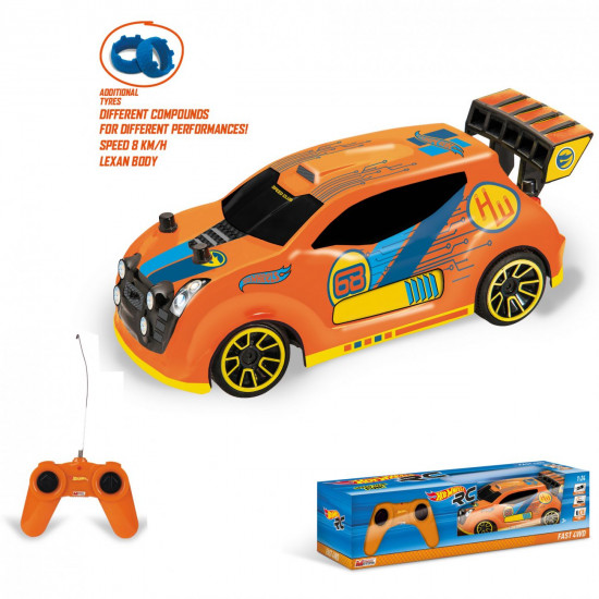 Hot Wheels R/C Fast 4WD automobil