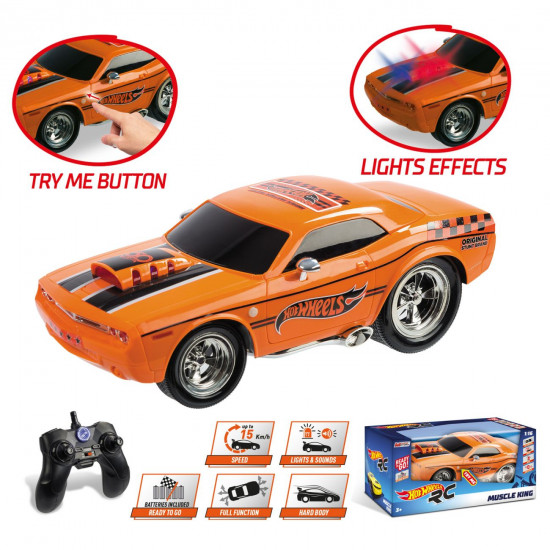 Hot Wheels R/C Muscle King automobil