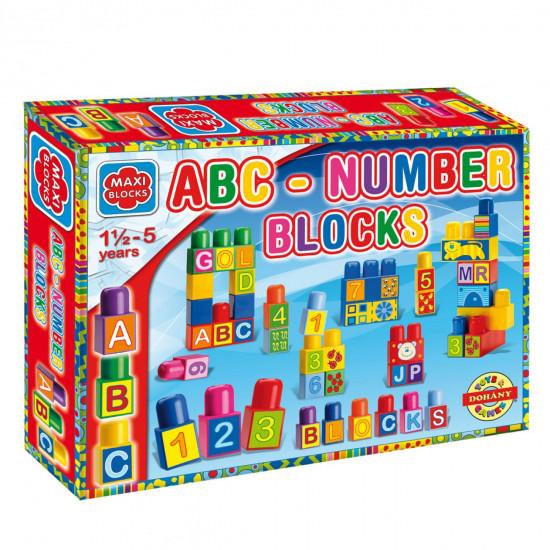 Kocke Maxi velike slova/brojevi