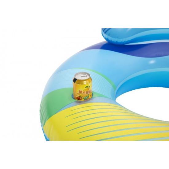 Prsten za plivanje na napuhavanje s LED svjetlima 104 cm