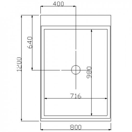 Masažna tuš kabina Design M