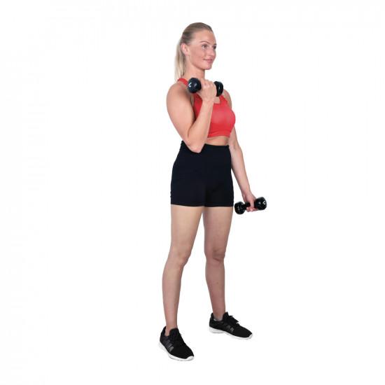 Komplet vinilnih utega Christopeit Sport 2 x 4 kg