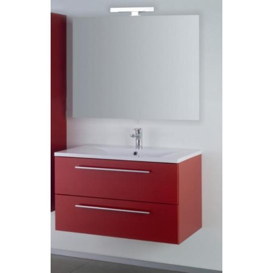 Sanotechnik kupaonski set s ogledalom Fiora 90