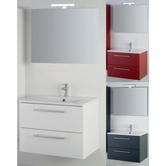 Sanotechnik kupaonski set s ogledalom Fiora 70