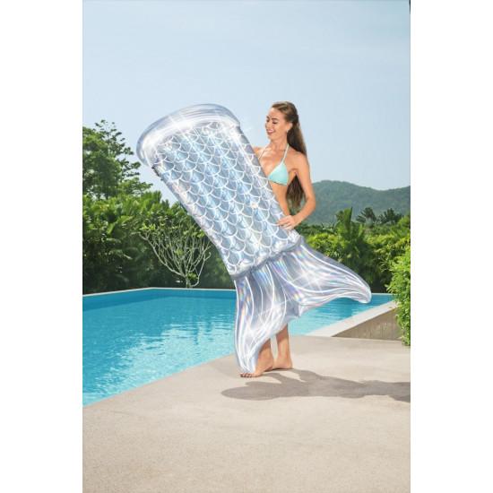 Jastuk Bestway Iridescent Mermaid Tail 193 x 101 cm