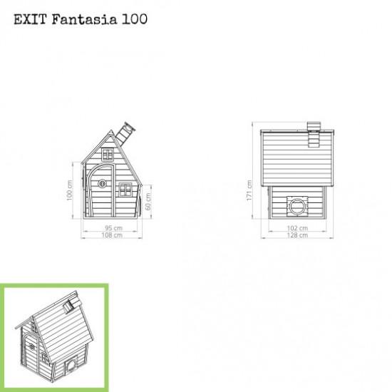 Dječja kućica Fantasia 100