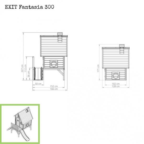Dječja kućica Fantasia 300