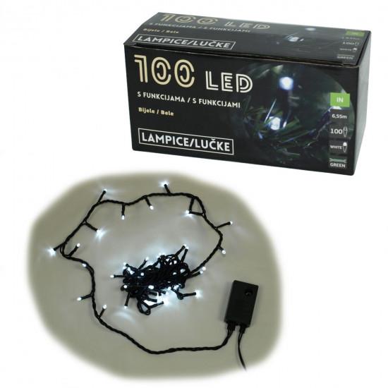 Lampice, 100 LED, bijele