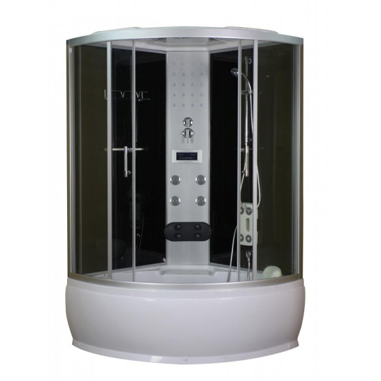 Sanotechnik masažna kompletna tuš kabina Salsa 120x120