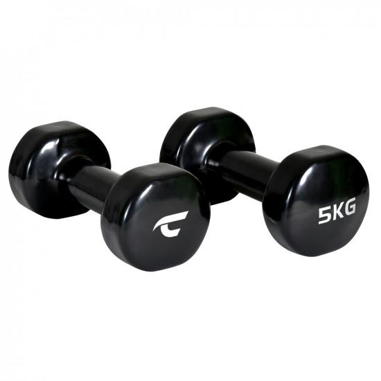 Komplet vinilnih utega Christopeit Sport 2 x 5 kg