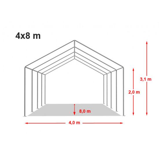 Šator za skladištenje 4x8 - 500 g/m2