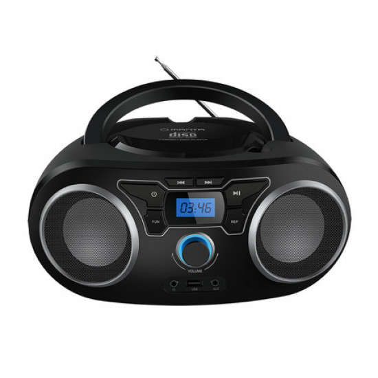 MANTA BBX006 Radio CD, MP3, USB, FM RADIO + Bluetooth 5.0