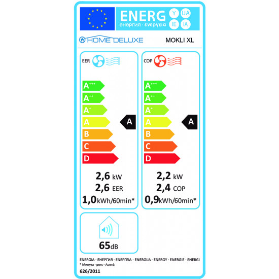 Home Deluxe prijenosni klimatski uređaj 15508