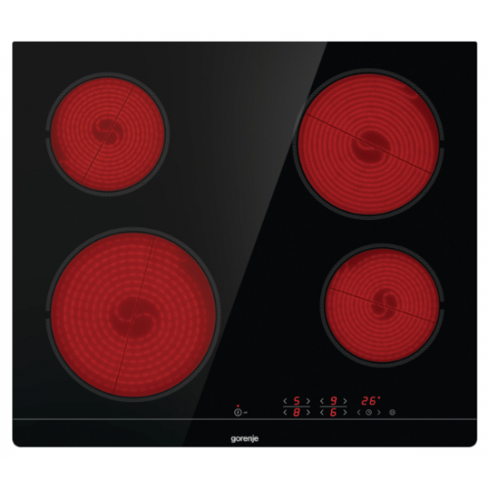Gorenje staklokeramička ploča za kuhanje ECT641BSC
