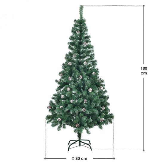 Božićno drvce sa snijegom 180 cm