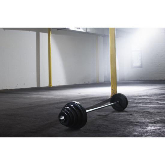 Komplet utega Christopeit Sport 38,5 kg + prečka