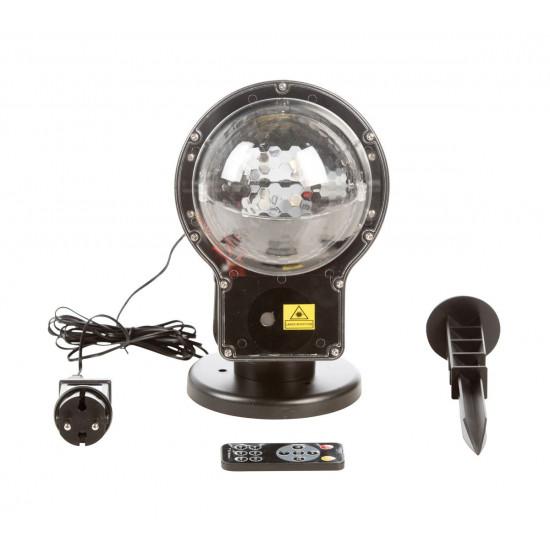 Svjetla Laserska i LED projektor - efekt snijega