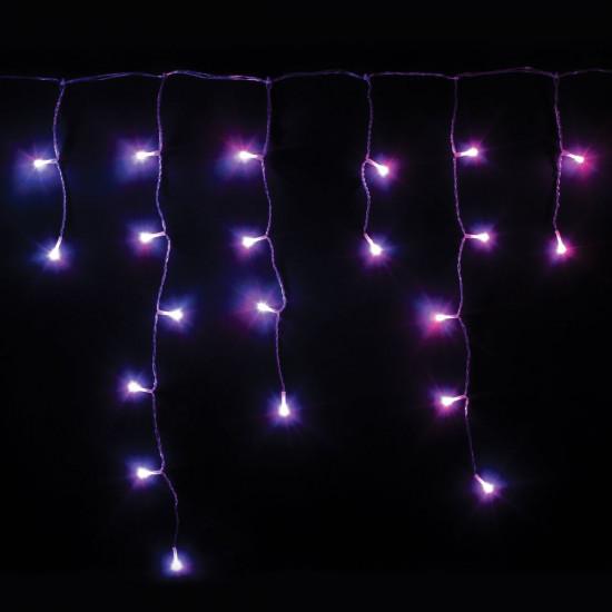 Pametna svjetla Twinkly-Icycle, prozirna žica