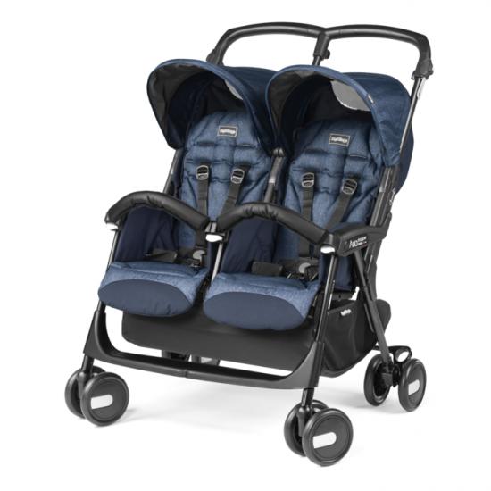 Kolica Aria Twin shopper - Indigo