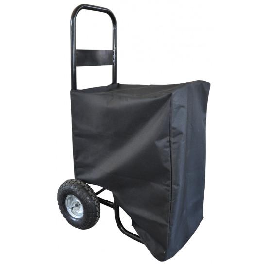 Ramda ručna kolica za prijevoz drva s prekrivačem 150 kg
