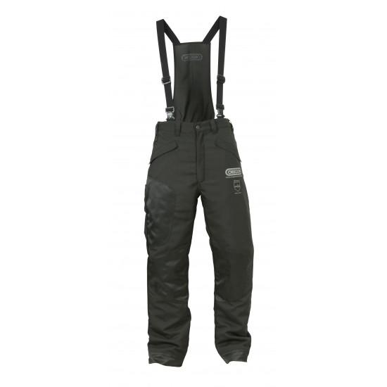 Oregon zaštitne hlače sa naramenicama Waipoua crne klasa I br.42/44 (S)