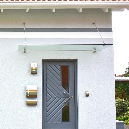 Nadstrešnica za ulazna vrata 150x90 cm V1