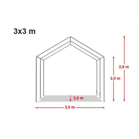 Šator za događaje 3x3 PE - 240g/m2