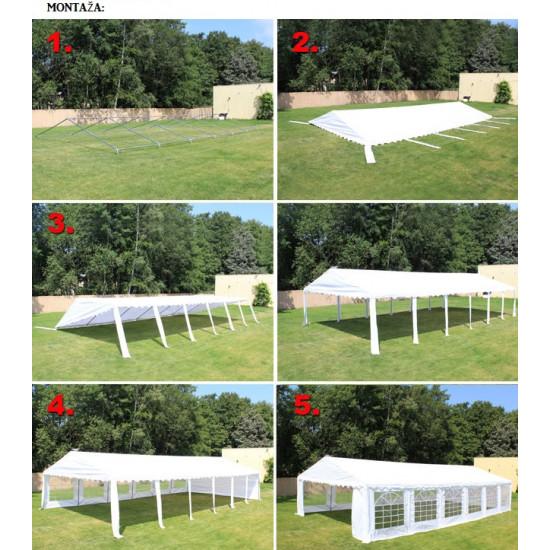 Šator za događaje 3x3 Economy - 500g/m2 negoriv