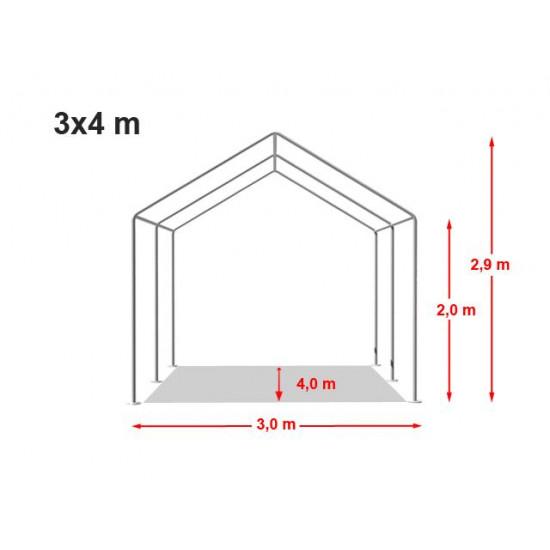 Šator za događaje 3x4 Economy - 500g/m2 negoriv
