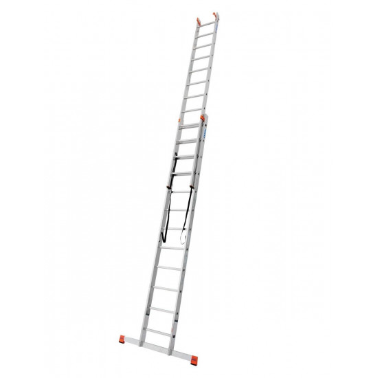 Trodijelna aluminijska ljestva 3x12 stepenica