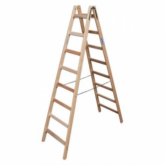 Drvena ljestva 8 stepenica