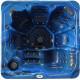 Masažni bazen Oasis Maxi plavi