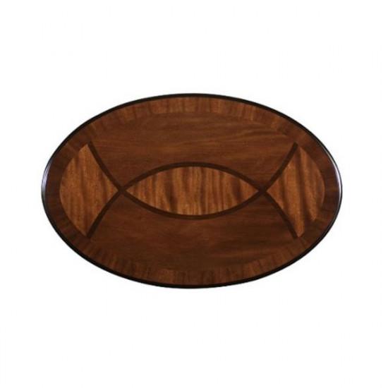 Klupski stolić Rustika ovalni