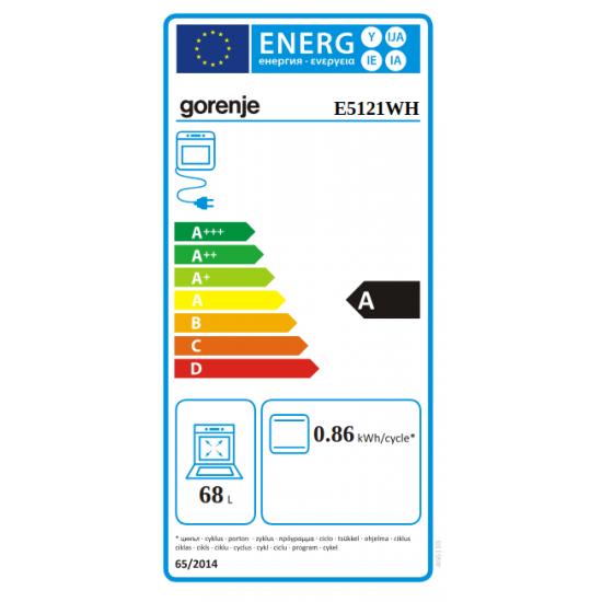 Gorenje električni štednjak E5121WH