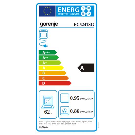 Gorenje električni štednjak EC5241SG