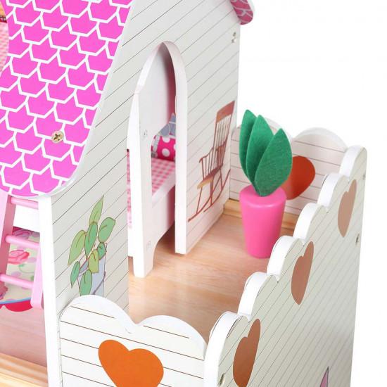 Drvena kućica za lutke 48631
