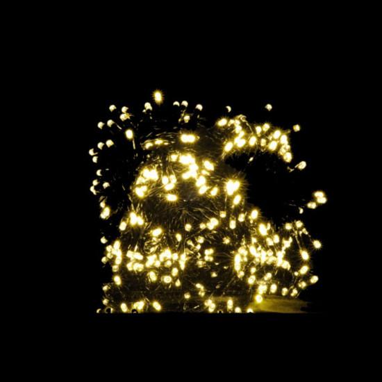 Svjetla 420 LED 5 mm, topla bijela s programatorom