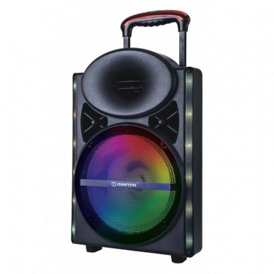 Karaoke zvučni sistem MANTA SPK5024 Kronos Bluetooth/USB/MP3/SD/RADIO 4000W