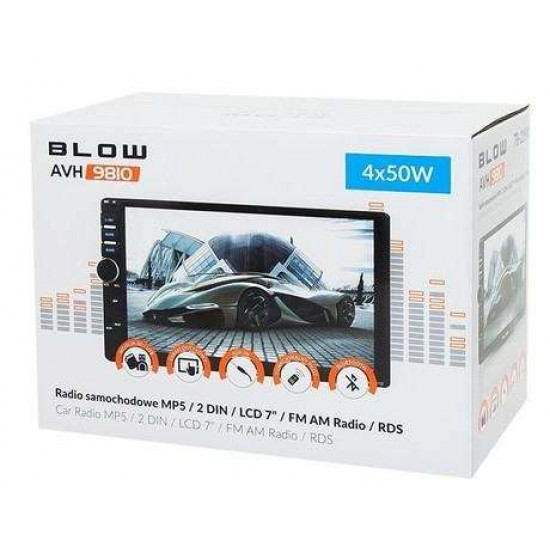 "Avtoradio BLOW AVH9810 MP5 / 2DIN / LCD 7"" / RDS"